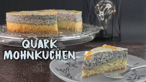 quark mohnkuchen backen mohn käsekuchen mit mandarinen selber machen weihnachtsrezepte