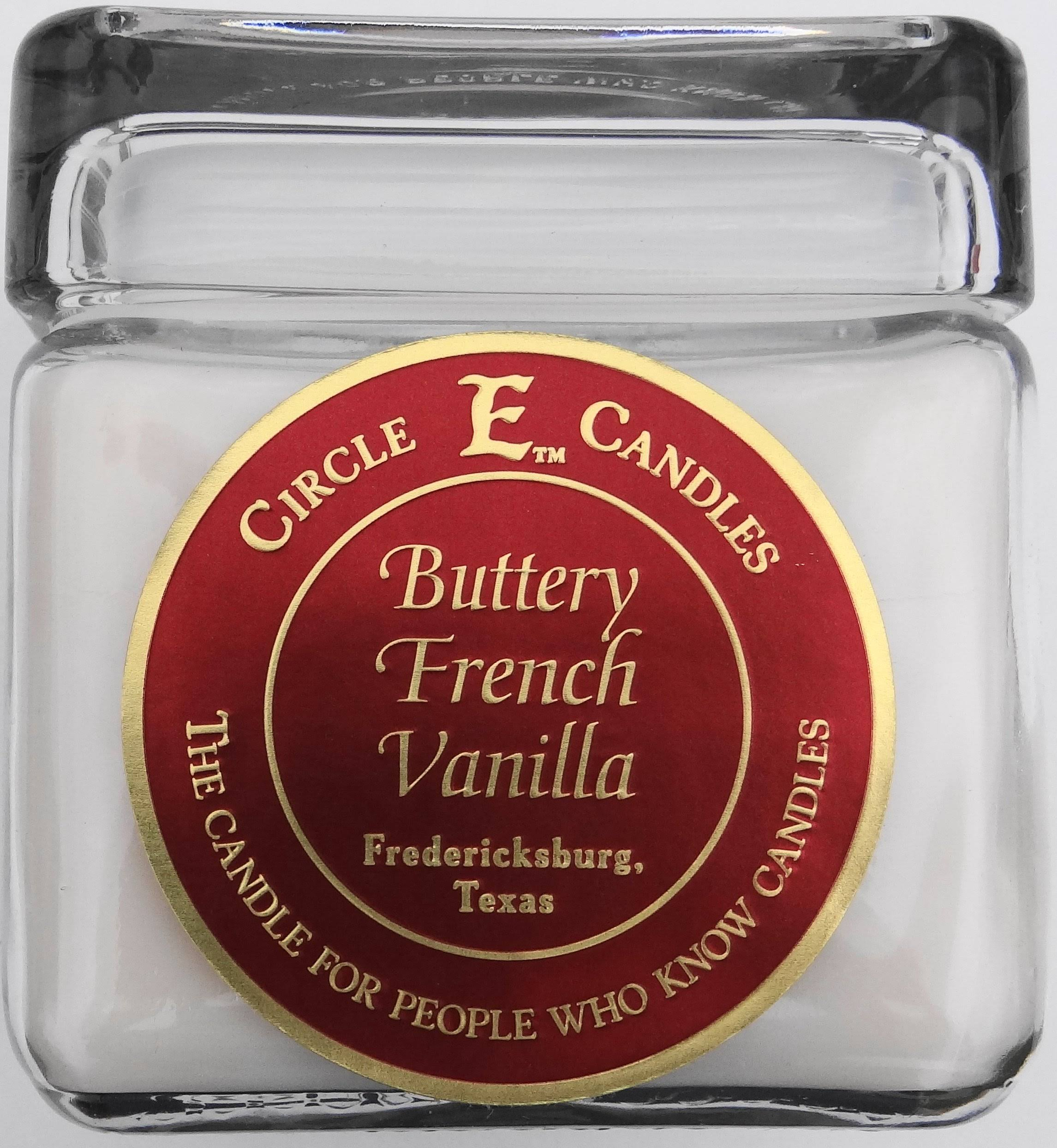 Circle E Candles 28oz Buttery French Vanilla