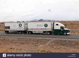 100 Old Dominion Truck Freight Line Semitractor And Trailers Doubles On