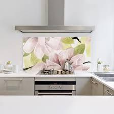 spritzschutz glas magnolie errötet ii querformat 2 3