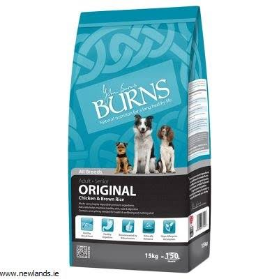 Burns Original Chicken & Brown Rice Adult & Senior Dog Food 12kg