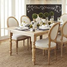 torrance 84 natural whitewash turned leg dining table pier 1