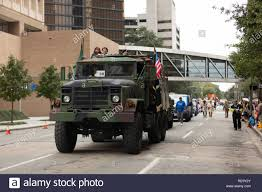 100 5 Ton Army Truck Houston Texas USA November 11 2018 The American Heroes Parade