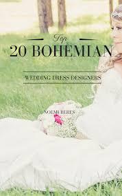 Top 20 bohemian wedding dress designers