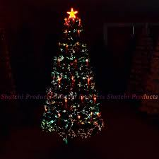 3ft Christmas Tree Asda by 4ft Fiber Optic Christma Tree Pre Lit Christmas Tree With Candle