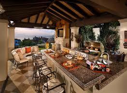 cuisine d ete couverte outdoor living ou la vie en plein air dans la douceur exotique