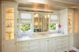 Bathroom Makeup Vanity Height by Bathroom Cabinets Lisa Vail Brentwood Bathroom Single Vanity