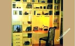 bureau bibliothèque intégré mobilier bureau modulaire bureau bibliotheque integre meuble bureau