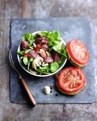 cuisiner les gesiers salade de gésiers et chignons pour 4 personnes recettes