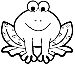 Frog Coloring Pages Fabulous Animal For Kids