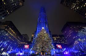 Christmas Tree Rockefeller Center 2016 by Pictures Holiday Lights From Around The Globe Orlando Sentinel