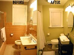 Small Bathroom Pictures Before And After by Small Bathroom Makeovers Before And After Pictures Bathroom Design