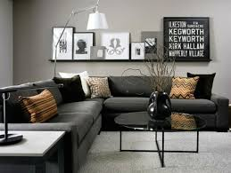 deco canapé gris deco canape avec d co salon gris 88 id es pleines de charme