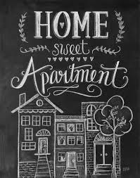 HOME SWEET APARTMENT PRINT Nine Space