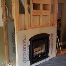 Fireplaces Wilton CT Gas Wood Zero With Regard To Clearance Burning