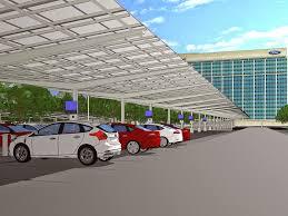 ford siege social voiture du futur ford montre l exemple pour la recharge solaire