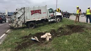 100 Garbage Truck Movies Rumpke Truck Overturns Twice On I75 Driver Injured