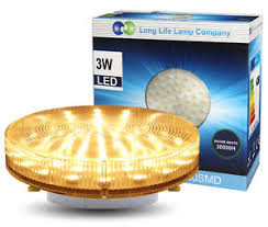 gx53 led 3w warm white smd light bulb replacement for cfl