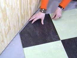 Can You Lay Ceramic Tile Over Linoleum by How To Install Linoleum Flooring How Tos Diy