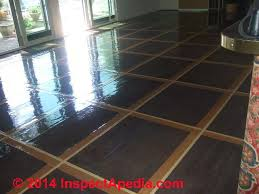 Sealing Asbestos Floor Tiles With Epoxy by How To Reduce The Hazard Floor Tiles That May Contain Asbestos