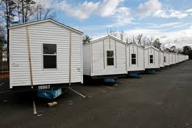N J has fleet of mobile homes ready for families who lost houses