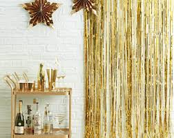 Foil Fringe Curtain Nz by Photo Booth Backdrop Etsy