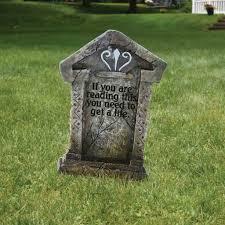Funny Halloween Tombstones For Sale by Amazon Com Fake Tombstones Halloween Yard Decoration Set 6