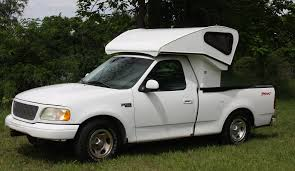 100 Pickup Truck Sleeper Cab This New Overcab Bedwind Deflector Is A Comfortable Bed Any Time