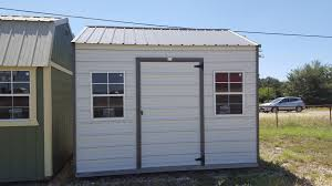 10x12 Shed Material List by Rent To Own Buildings Lizards On The Roof