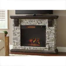 Highland 50 In Faux Stone Mantel Electric Fireplace Gray