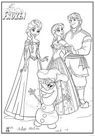 Frozen Online Coloring Pages Free For Kids