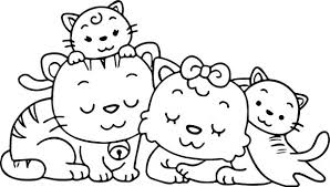 Holy Family Coloring Pages Free Members Pdf Animal Cat Page Images