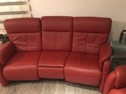 3 leder sofas zu verkaufen
