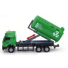 100 Truck Carrier 143 Racing Bicycle Shop Toy Car Vehicle Garbage