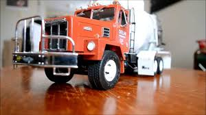 OLD ERTL INTL PAYSTAR CEMENT TRUCK MODEL - YouTube