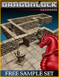 3d Dungeon Tiles Uk by Fat Dragon Games Making Fantasy Fantastic