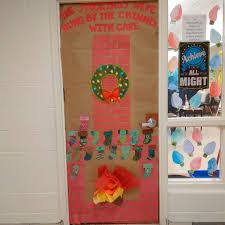 Kindergarten Christmas Door Decorating Contest by Christmas Door Decoration Contest