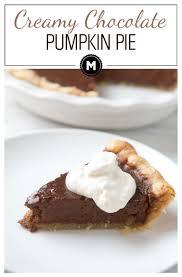 Bake Pumpkin For Pies by Chocolate Pumpkin Pie From Chef Symon Macheesmo