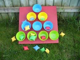 Lot Of Time Outdoors And Wanted A Fun Game To Play In Our Yard We Made This Bean Bag Toss