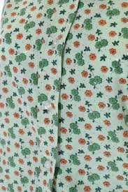 womens girls vintage jc penney green floral shirt u2013 buck u0026 zinkos