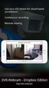 DVR Webcam Dropbox Edition on the App Store