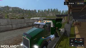 100 Feed Truck Kenworth Mod Farming Simulator 17