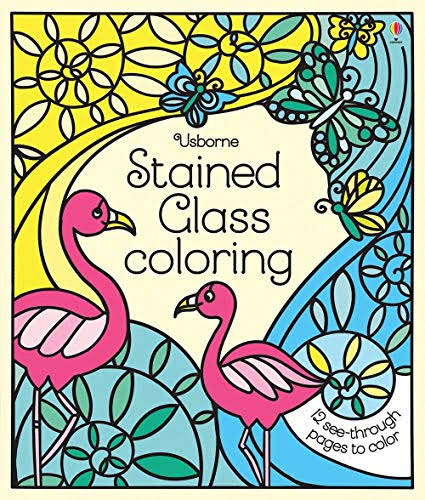 Stained Glass Coloring [Book]