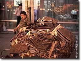 Carpet Seller Istanbul Turkey