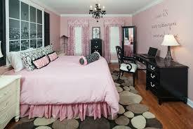 Paris Bedroom Decor Pink And Black Ideas Teenage Girls Best Small