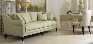 Transitional Living Room Sofa by Sherrill Furniture For A Transitional Living Room With A Warm And