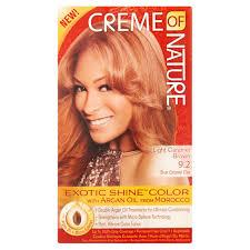 Creme of Nature Light Caramel Brown 9 2 Brun Caramel Clair
