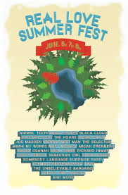 Real Love Festival Poster