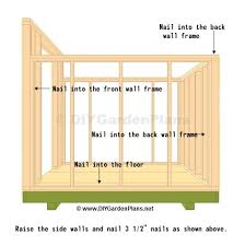 12x12 Storage Shed Plans Free by Diy Saltbox Shed Guide