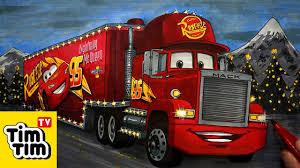 100 Disney Cars Mack Truck Hauler